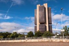 Banco de Brasil central Imagens de Stock