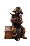 Banco de bronze do pirata Fotos de Stock Royalty Free