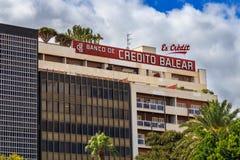 Banco de Credito Balear Royaltyfri Bild