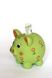 Banco de economia Piggy Imagem de Stock Royalty Free