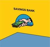 Banco de economias Fotografia de Stock