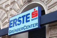 Banco de Erste, Áustria Imagem de Stock Royalty Free