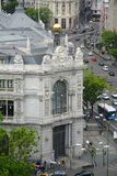 Banco de España, Μαδρίτη, Ισπανία Στοκ φωτογραφίες με δικαίωμα ελεύθερης χρήσης