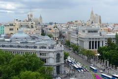 Banco de España, Μαδρίτη, Ισπανία Στοκ Φωτογραφίες