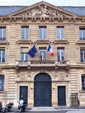 Banco de Francia parís Foto de archivo libre de regalías