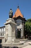 banco de funchal portugal Royaltyfri Bild