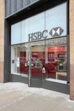 Banco de HSBC, New York Fotografia de Stock Royalty Free