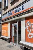 Banco de ING Imagem de Stock Royalty Free