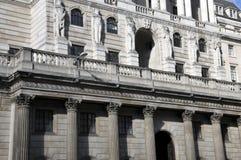 Banco de Inglaterra, Londres Foto de archivo libre de regalías