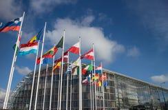 Banco de investimento europeu (BEI) fotografia de stock royalty free