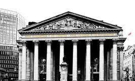 Banco de Londres imágenes de archivo libres de regalías
