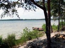 Banco de los lagos Shatsk Imágenes de archivo libres de regalías