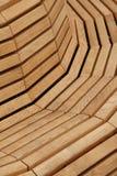 Banco de madeira Fotografia de Stock Royalty Free