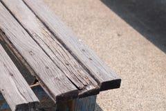 Banco de madeira Imagens de Stock