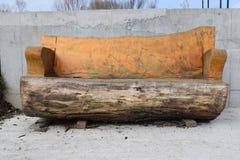 Banco de madeira Fotografia de Stock
