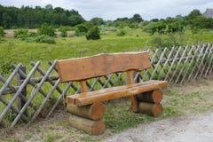 Banco de madeira, rústico Fotografia de Stock Royalty Free