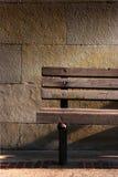 Banco de madera Foto de archivo