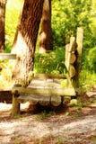 Banco de madera Fotografía de archivo
