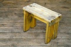 Banco de madera Fotografía de archivo libre de regalías