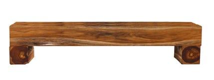 Banco de madera aislado foto de archivo