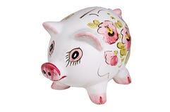 Banco de moeda Fotografia de Stock Royalty Free