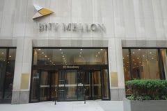 Banco de Nueva York Mellon foto de archivo