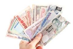 Banco de papel asiático