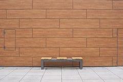 Banco de pedra vazio Imagens de Stock