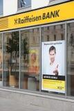 Banco de Raiffeisen, Hungría Fotografía de archivo