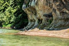Banco de rio Fotos de Stock Royalty Free