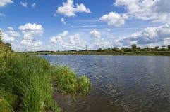 Banco de rio Fotos de Stock