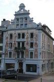 Banco de UBS en Einsiedeln Suiza Imagenes de archivo