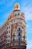 Banco de Valencia building in Pintor Sorolla street Stock Photos