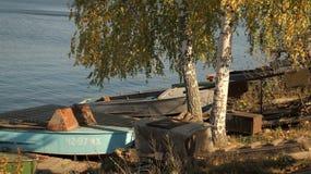 Banco de Volga Fotografía de archivo