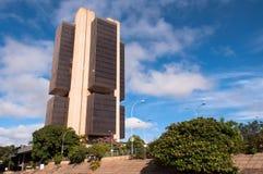 Banco del Brasil central fotos de archivo