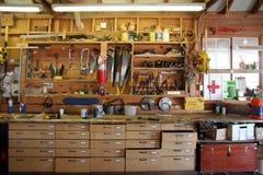 Banco del carpentiere Fotografia Stock Libera da Diritti