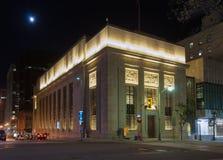 Banco del edificio de Montreal en Ottawa Imagen de archivo libre de regalías