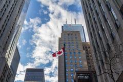 Banco del edificio principal de Montreal BMO en Toronto, Ontario, Canadá Imagenes de archivo