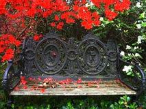 Banco del jardín Fotografía de archivo