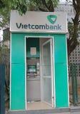 Banco del vietnamita de la atmósfera de Vietcombank Imagen de archivo