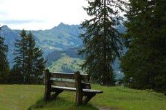 Banco della montagna Fotografie Stock