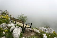 Banco della montagna immagini stock libere da diritti