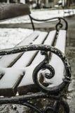 Banco della neve Fotografia Stock Libera da Diritti