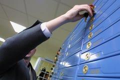 Banco-depósito fotografia de stock royalty free
