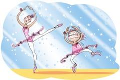 Banco di balletto Fotografia Stock Libera da Diritti