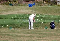 Banco di golf Fotografia Stock Libera da Diritti