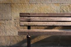Banco di legno Immagine Stock Libera da Diritti