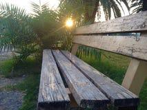 Banco di legno Fotografia Stock