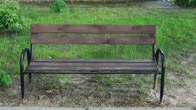 Banco di legno nel parco