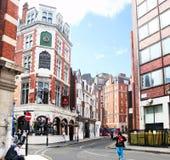 Banco di Londra di economia Fotografie Stock